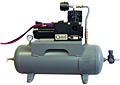 Tank-Mounted Air Compressor