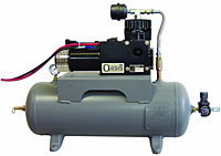 10 Gal Tank Tank-Mounted Air Compressor